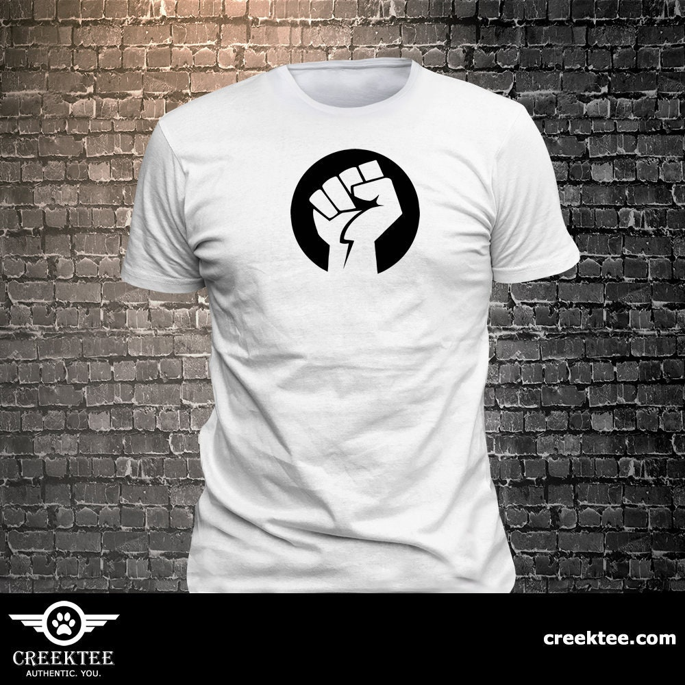 CAD$19.99 - Rising Fist Vinyl print t-shirt - Funny t-shirt, fun tshirt, Customize your t-shirt... Ask us!