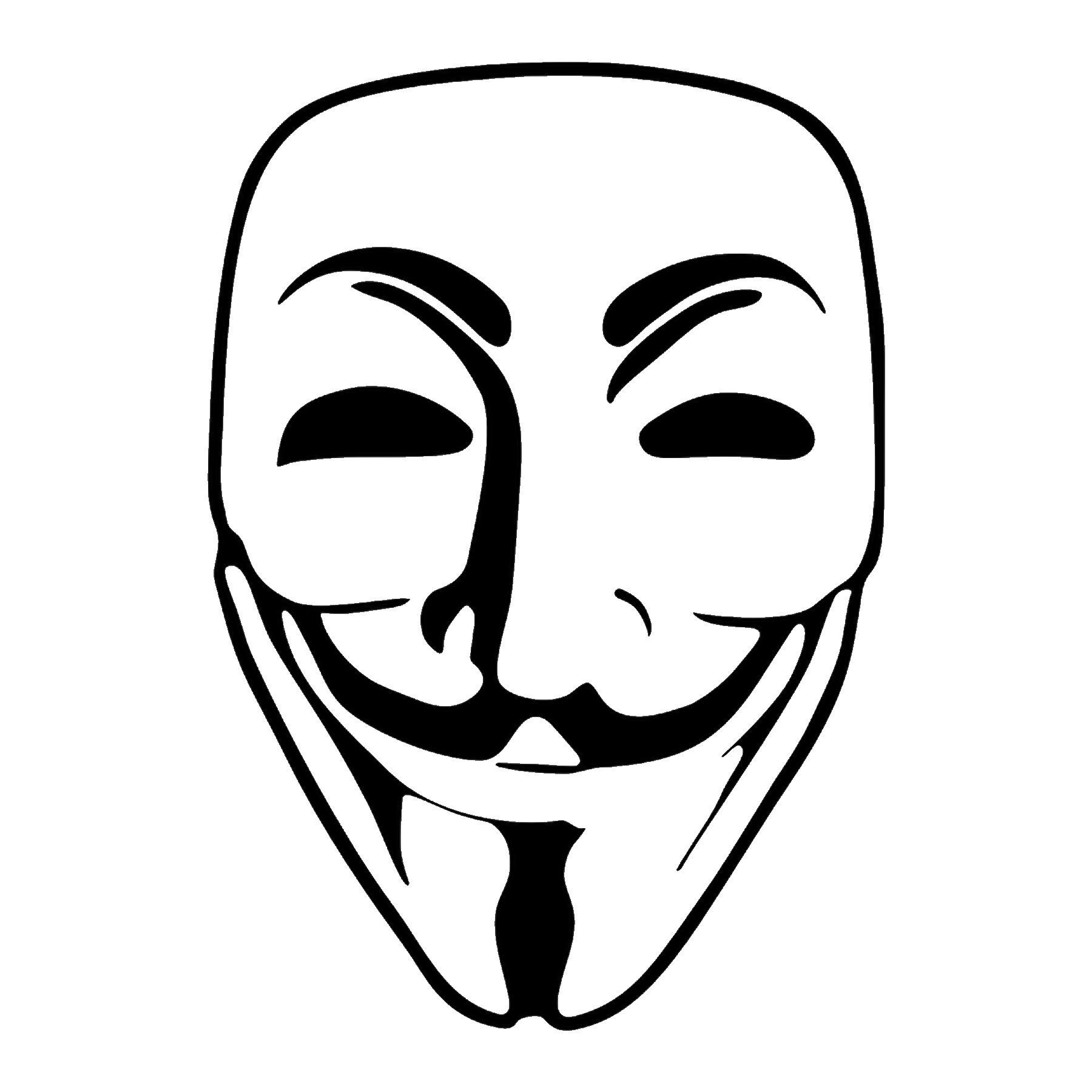 CAD$8.69 - Guy Fawke Anonymous Vinyl Decal - various sizes and colors - colours
