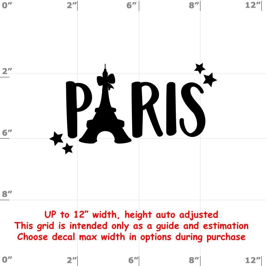 CAD$8.69 - Paris - Fun Decals various sizes and colors - colours