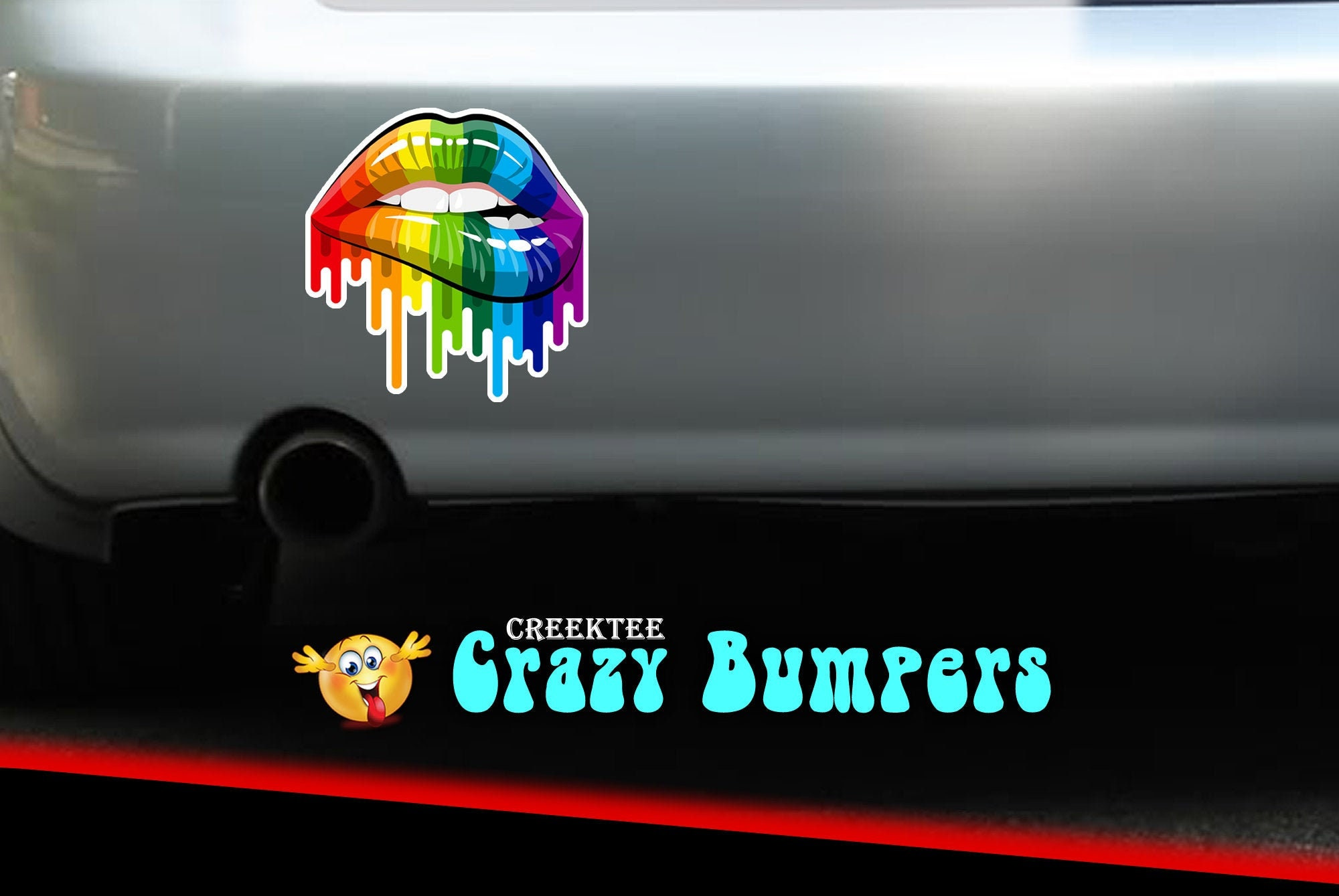 Gay Pride Stickers 4 inch by 4 inch (4x4) sticker with 3 mil plastic coating.