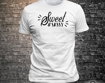 Sweet & Sassy print t-shirt