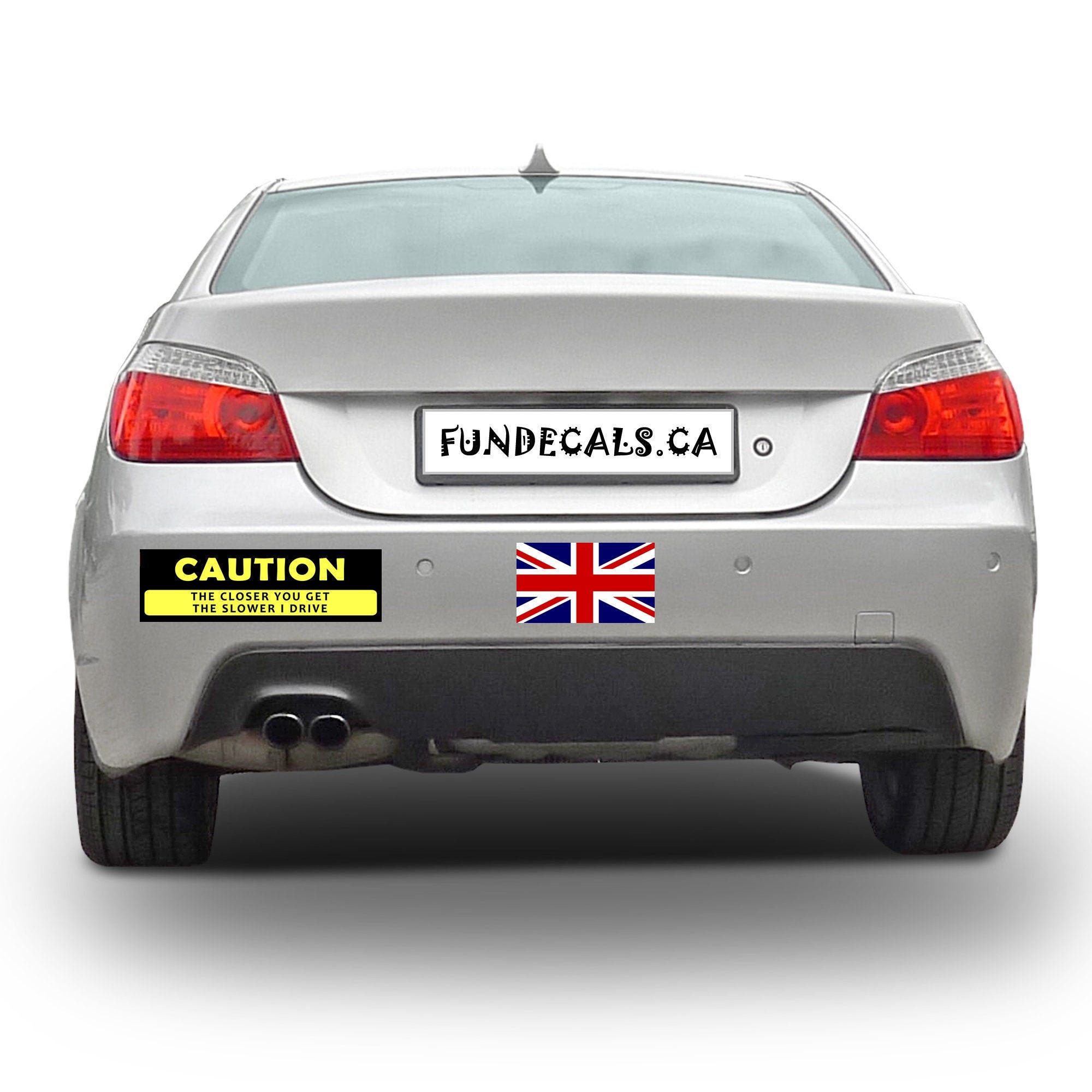 CAD$10.79 - 2X UK England Flag 5.7 x 3 inch Bumper Sticker or Magnetic Bumper Sticker Available