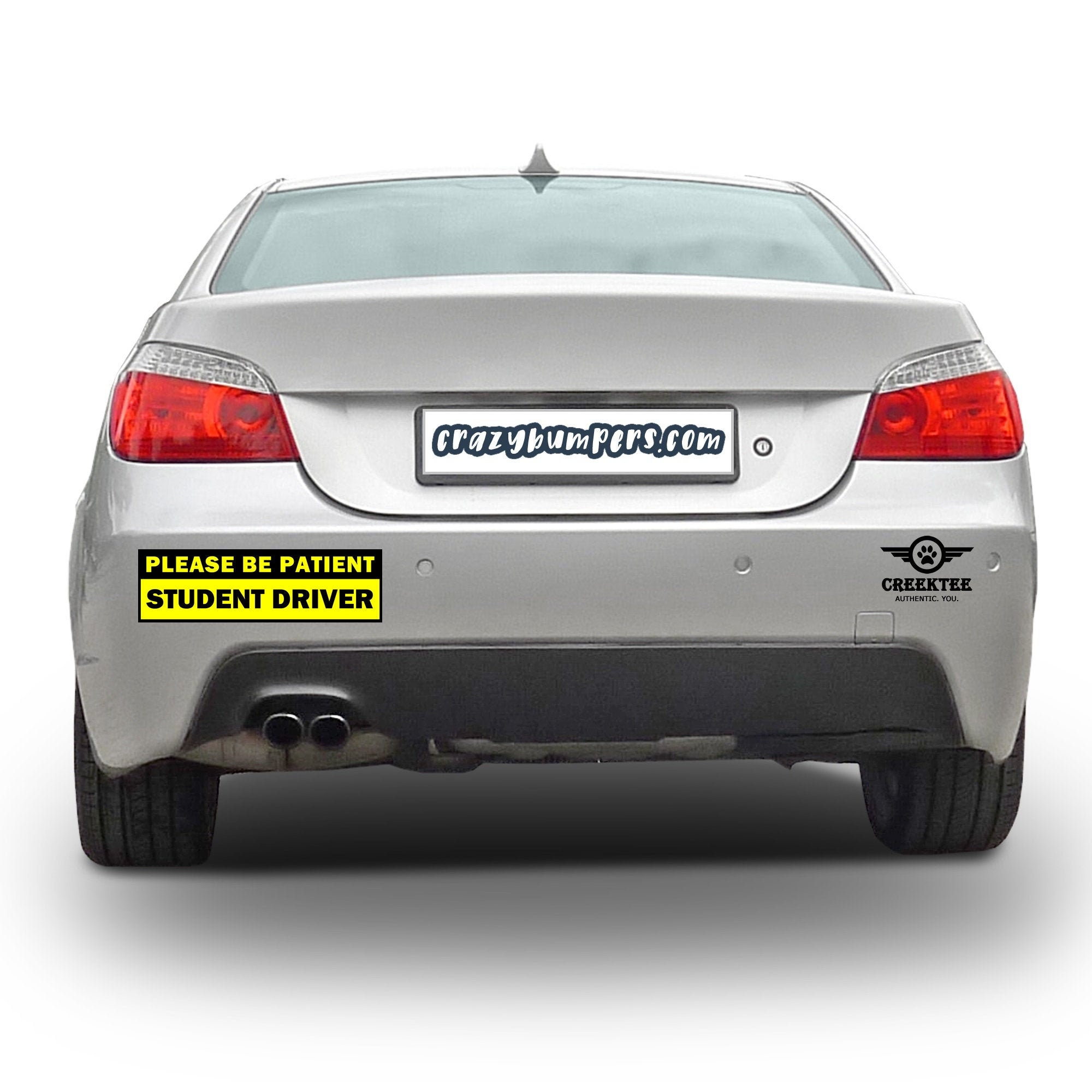 CAD$13.94 - 2X Bundle Please Be Patient Student Driver Bumper Sticker 10 x 3 Bumper Sticker or Magnetic Bumper Sticker Available