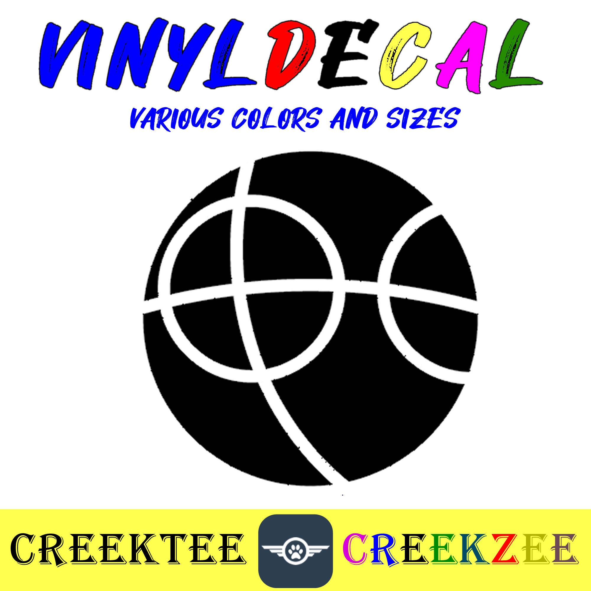 CAD$8.69 - Bocce Ball vinyl decal in various sizes or colors