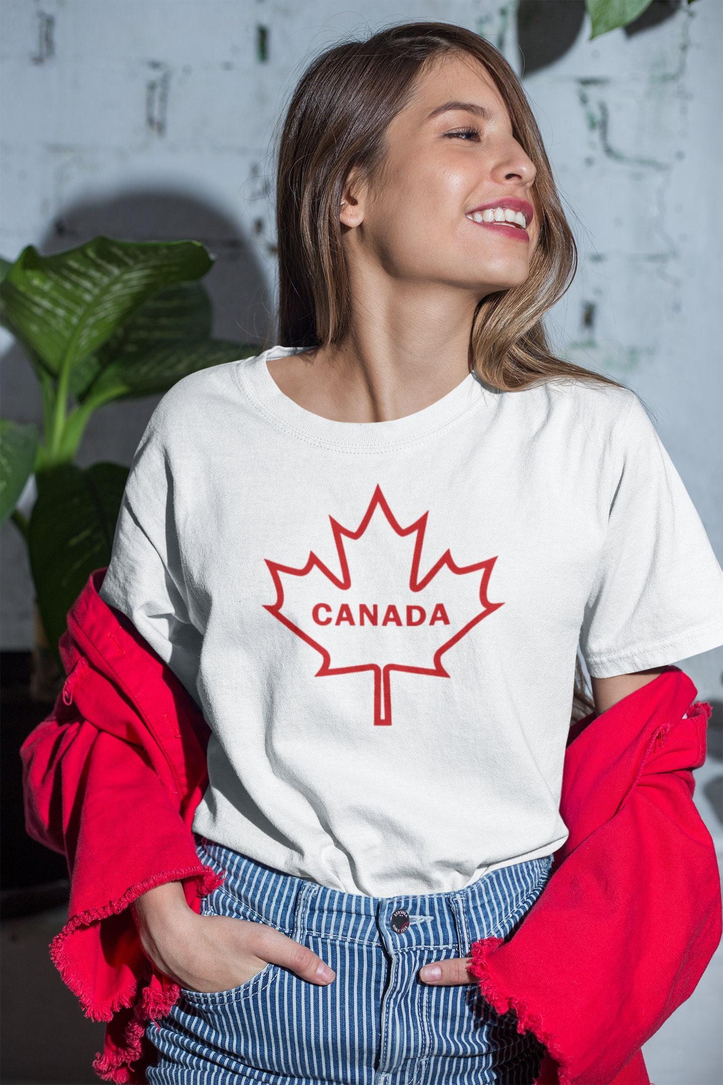 CAD$19.99 - Canada long lasting vinyl print t-shirt Canada T-Shirt