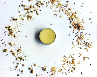Calendula and chamomile organic balm