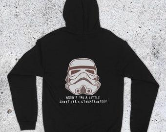 Womens Star Wars Stormtrooper Marble Print Hoodie Dress costume
