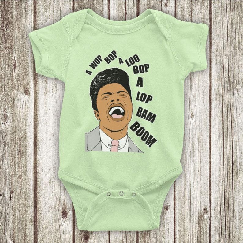 Little Richard Tutti Frutti American Rock n Roll R/&B Musician Unofficial Baby Grow