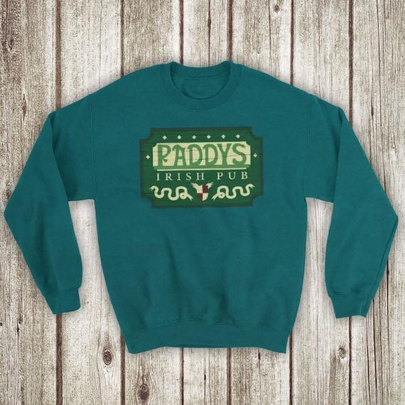 Paddy/'s Irish Pub Hooded Sweat Shirt It/'s Always Sunny in Philadelphia Hoodie
