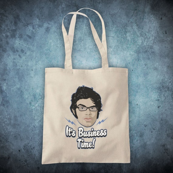 FLIGHT OF THE CONCHORDS IT/'S BUSINESS TIME JEMAINE DUO TOTE BAG LIFE SHOPPER