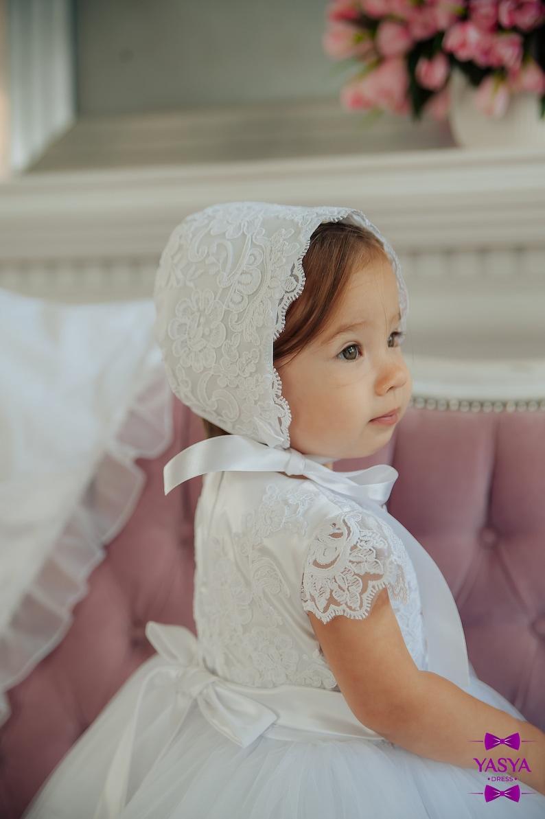 Weiße Taufe Kleid Baby Segen Kleid Taufe Kleid für | Etsy