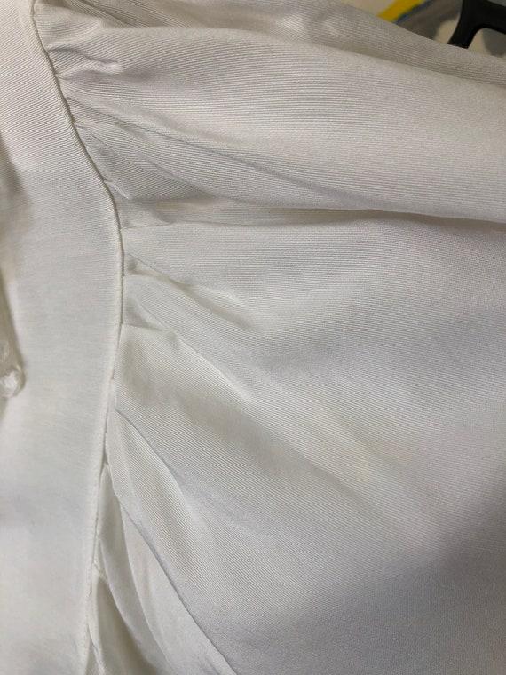 vintage white lace collar blouse | Cottagecore ba… - image 6