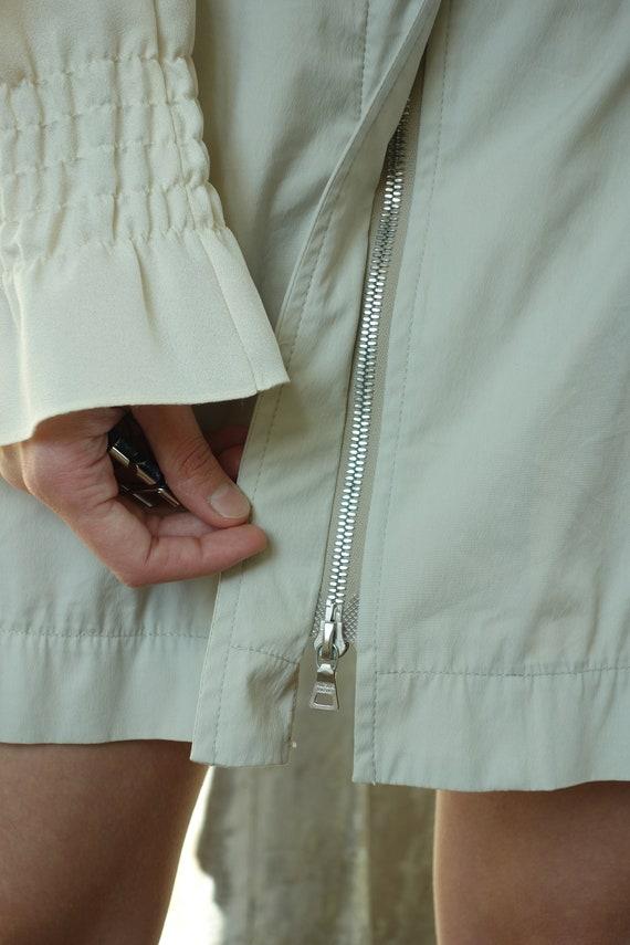 90s vintage PRADA skirt | Linea Rossa nylon cotto… - image 4