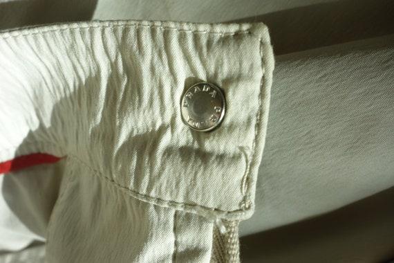 90s vintage PRADA skirt | Linea Rossa nylon cotto… - image 8