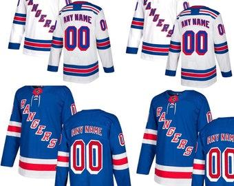 new style 96f4f 06abd Rangers hockey jersey | Etsy