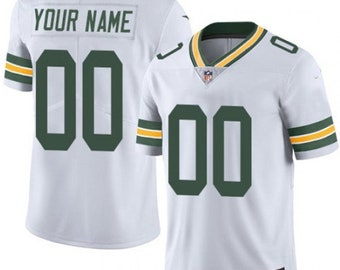 77873f65ada83 Custom personalized Green Bay football jersey green/White/yellow 3 colors  available, custom jersey, custom Name number, personalized