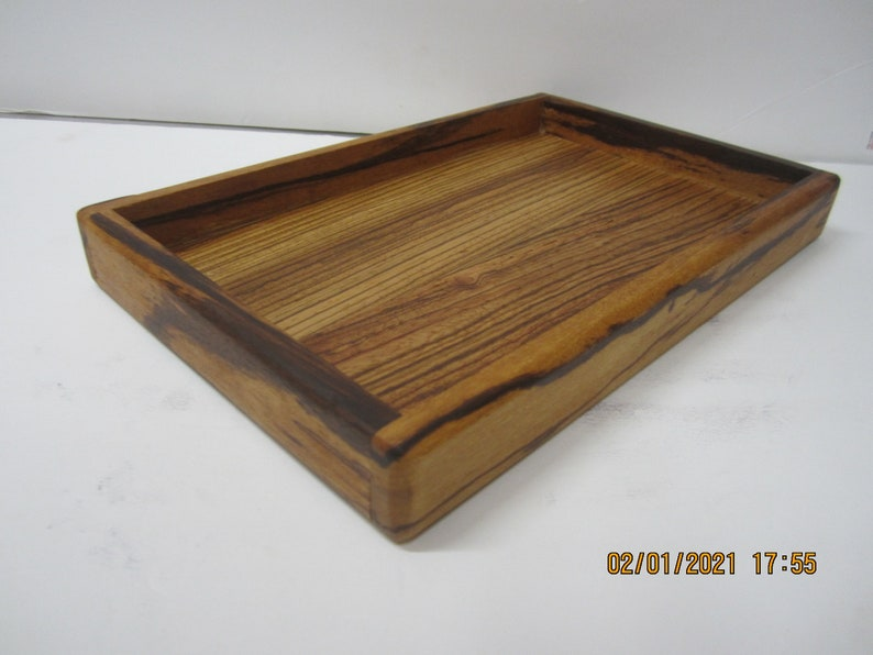 Tray for TV remotes jewelry handmade by a disabled Vet in the USA