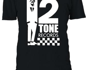 53e629253 2 Tone Records Two Ska Reggae Rude Tshirt Men Women Unisex Oversized 3XL  4XL 5XL T-Shirt 2627