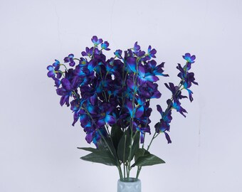 Galaxy Orchid Inspired Flower Trinket Bowl
