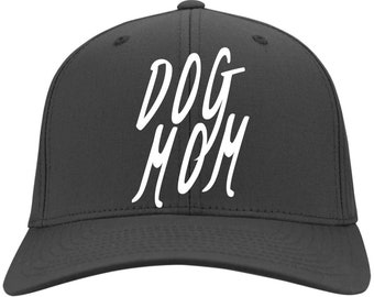 32b719e9fa15 Dog Mom Cap - Port & Co. Twill Cap, 100% Colors, Available In 11 Different  Colors! Embroidered.
