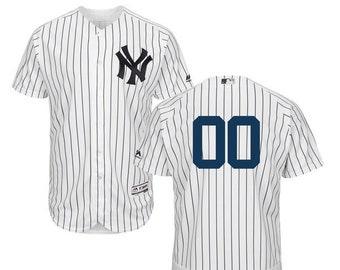 90fa6973381 Mens New York Yankees Custom Name   Number Flex Base Baseball Jersey  Multiple Colors Available