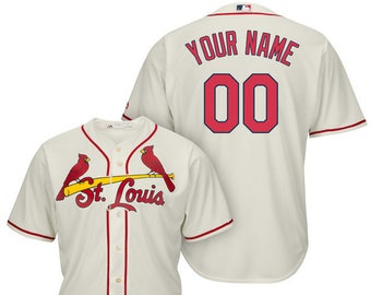 279c5088d Mens and Youth St. Louis Cardinals Custom Name   Number Cool Base Baseball  Jersey Multiple Colors Available