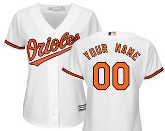 3e49e9fb11b Women Baltimore Orioles Custom Name   Number Cool Base Baseball Jersey  Multiple Colors Available