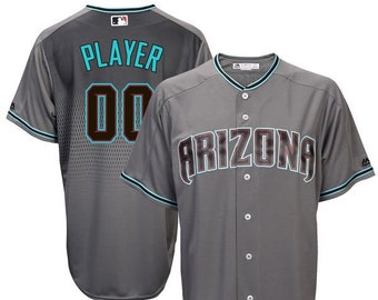 84d10a539 Mens and Youth Arizona Diamondbacks Custom Name   Number Cool Base Baseball  Jersey Multiple Colors Available