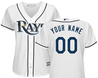 75278690e46 Women Tampa Bay Rays Custom Name   Number Cool Base Baseball Jersey  Multiple Colors Available
