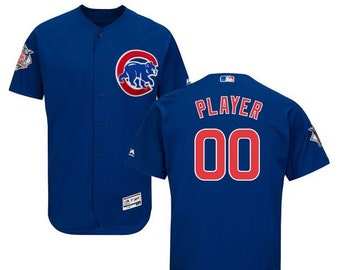 2247ea612ac Mens Chicago Cubs Custom Name & Number Flex Base Baseball Jersey Multiple  Colors Available