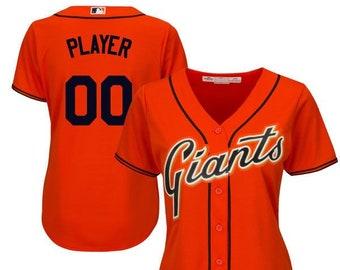 c88af2fc64c Women San Francisco Giants Custom Name   Number Cool Base Baseball Jersey  Multiple Colors Available