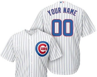 37f9867b0 Mens and Youth Chicago Cubs Custom Name   Number Cool Base Baseball Jersey  Multiple Colors Available