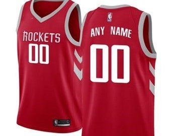 b63a5a89a003 Mens And Youth Houston Rockets Name   Number Basketball Jersey Multiple  Colors Available