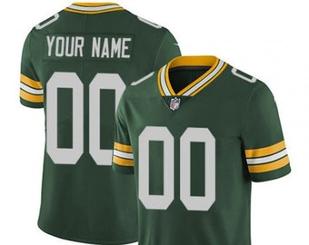 c145d13e8b23a Mens and Youth Custom Personalized Green Bay Football Jersey Multiple  Colors Available
