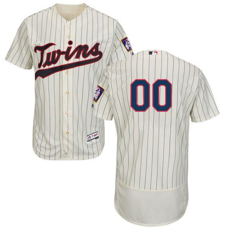 Mens Minnesota Twins Custom Name /& Number Flex Base Baseball Jersey Multiple Colors Available