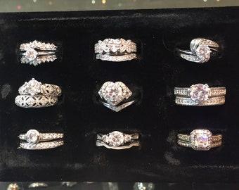 Vintage Leebu 140 12k Gold Filled Wedding Band Ring Size 7.75