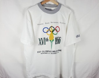 Adidas Vintage Olympic Winter Games St Moritz 1928 crewneck
