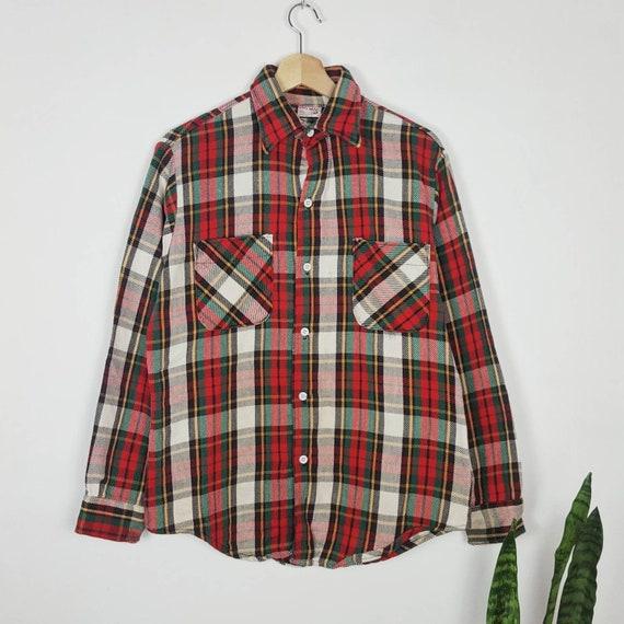 Vintage 70s Big Mac JC Penney Flannel Shirt Plaid