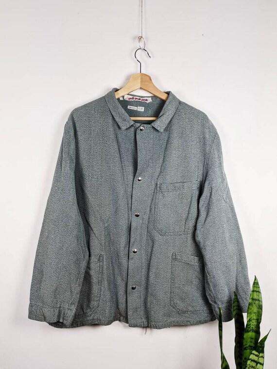 Vintage French Work Jacket Sanfor Workwear