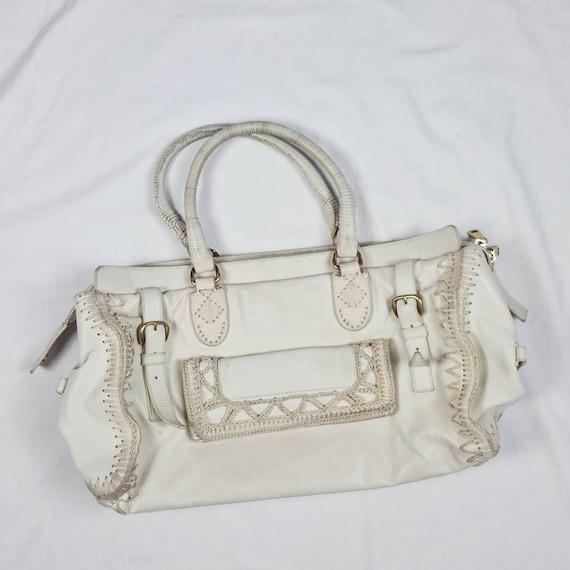 Vintage Yves Saint Laurent Women's Shoulder Bag Wh