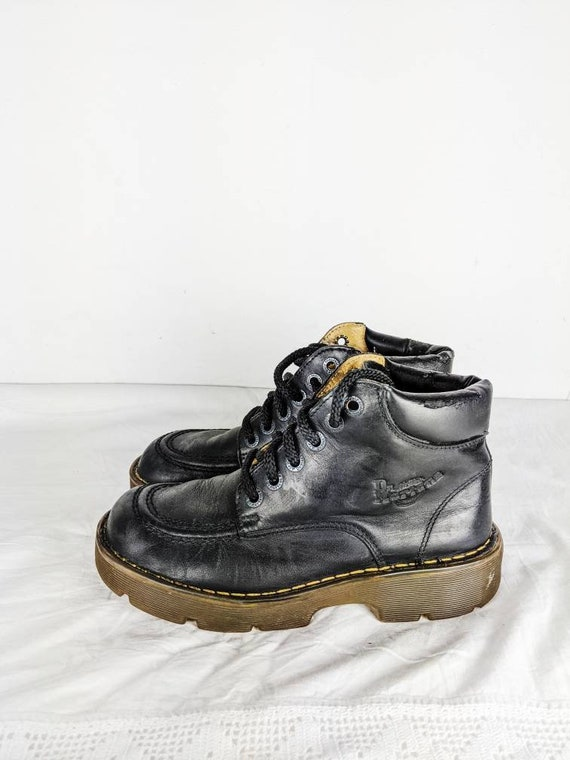 Vintage Dr. Martens Platform Boots Made in England