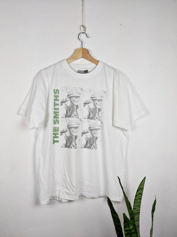 Vintage The Smiths Merch T-shirt Meat Is Murder
