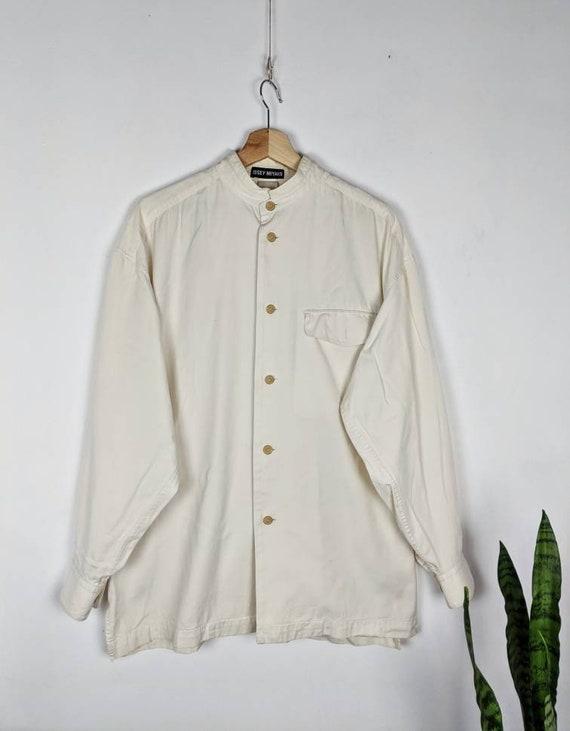 Vintage Issey Miyake Shirt Japanese Designed Cotto