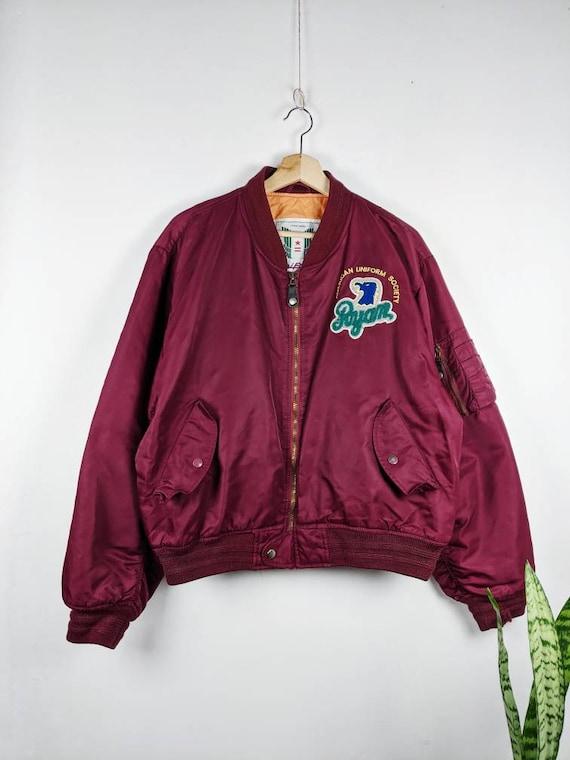 Vintage Uniform Type A -1 USA Nylon Jacket Public