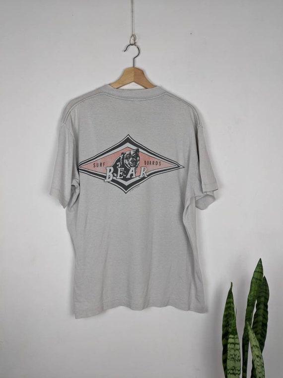 Vintage Bear Surfboards T-shirt 1978 Merch