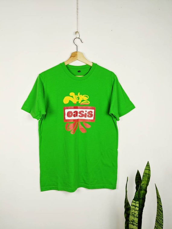 Vintage Oasis Merch T-shirt Tour 2000s