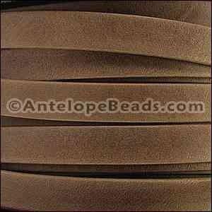 Arizona 10mm Flat Leather Cord Violet per INCH