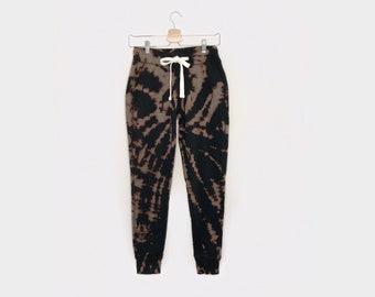 PARTIE-PANTS <3 in flip it - tie-dye fleece sweatpants