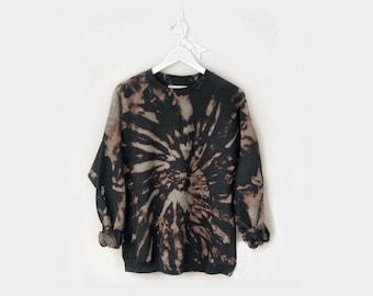 FLIP IT <3 reverse tie-dye sweatshirt - unisex for adults - personalizable