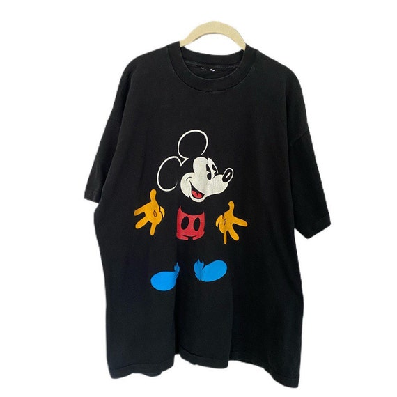 Vintage Mickey Mouse blue shoes shirt